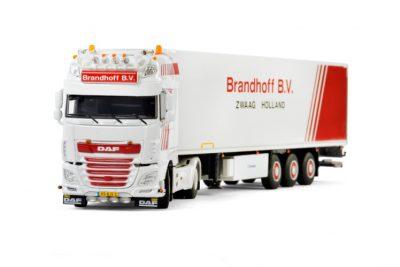 Brandhoff Transport DAF XF SUPER SPACE CAB , Van WSI Models