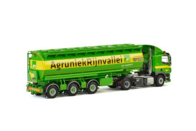 AgruniekRijnvallei DAF CF SLEEPER CAB 4×2 BULK TRAILER , Van WSI Models