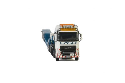 LASO VOLVO FH4 GLOBETROTTER 8×4 LOWLOADER EURO 4 AXLE | DOLLY 2 AXLE , Van WSI Models