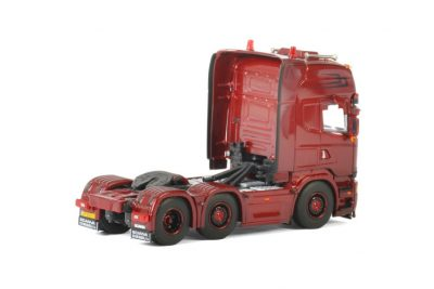 Valke Transport SCANIA STREAMLINE TOPLINE 6X2 TWIN STEER , Van WSI Models