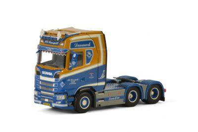 KD Transport SCANIA S HIGHLINE CS20H 6×2 TAG AXLE , Van WSI Models