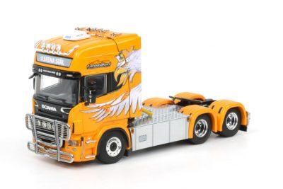 Lasse Hansen Scania R(5) Topline 6×2 sleep as , Van WSI Models