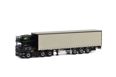 AG Transport SCANIA R5 TOPLINE CURTAINSIDE / TAUTLINER TRAILER – 3 AXLE , Van WSI Models