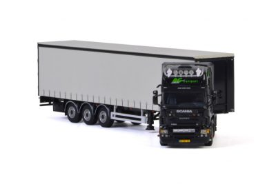 AG Transport SCANIA R5 TOPLINE CURTAINSIDE / TAUTLINER TRAILER – 3 AXLE , Van WSI Models