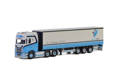 Dairytop BV SCANIA S HIGHLINE | CS20H 6X2 TAG AXLE CURTAINSIDE TRAILER – 3 AXLE , Van WSI Models