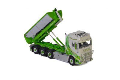 JA Transport VOLVO FH4 GLOBETROTTER 8×4 PALFINGER HOOKLIFT , Van WSI Models