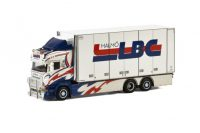 LBC Malmö SCANIA R6 HIGHLINE 6x2 TAG AXLE , Van WSI Models