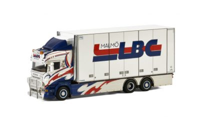 LBC Malmö SCANIA R6 HIGHLINE 6×2 TAG AXLE , Van WSI Models