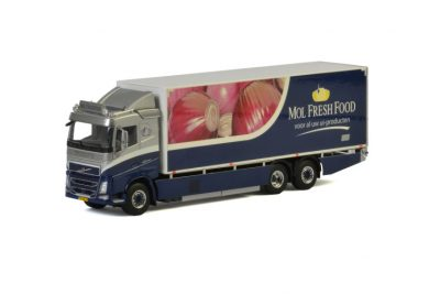 Mol Fresh Food VOLVO FH4 SLEEPER CAB RIGED BOX / CURTAIN / REFRIGERATED TRUCK COMBI , Van WSI Models