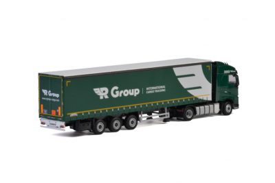 R-Group VOLVO FH4 GLOBETROTTER 4×2 CURTAINSIDE , Van WSI Models