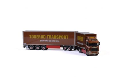 Tonerud SCANIA R NORMAL | CR20N 6X4 RIGED TRUCK LZV COMBI , Van WSI Models