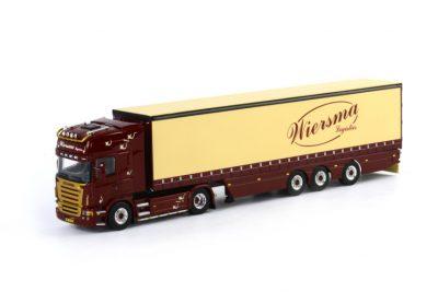 Wiersma Scania R(5) 4×2 Topline Curtainsidetrailer 3 axle , Van WSI Models
