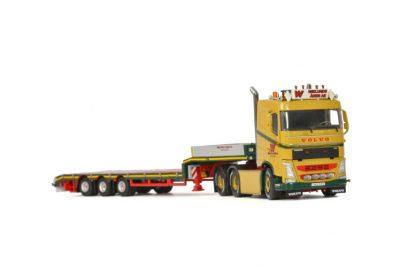 Wiklundss Akeri AB VOLVO FH 4 SLEEPER CAB 6×2 TAG AXLE SEMI LOWLOADER – 3 AXLE , Van WSI Models