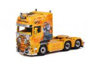 "Ristima ""Tiger"" Scania R(5) Topline 6x2 sleepas , Van WSI Models"