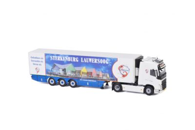 Vishandel Sterkenburg VOLVO FH4 GLOBETROTTER XL 4×2 REEFER TRAILER – 3 AXLE , Van WSI Models
