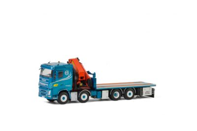 BA Perssons Kranbilar VOLVO FH4 SLEEPER CAB 8×2 TAG AXLE PALFINGER 7800.2 | JIB , Van WSI Models