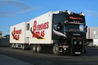 Byrknes Auto As SCANIA R5 TOPLINE 6x2 TAG AXLE RIGED BOX , Van WSI Models