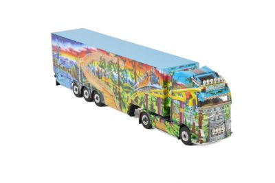 Regen Logistik VOLVO FH4 GLOBETROTTER XL 4×2 REEFER TRAILER – 3 AXLE , Van WSI Models