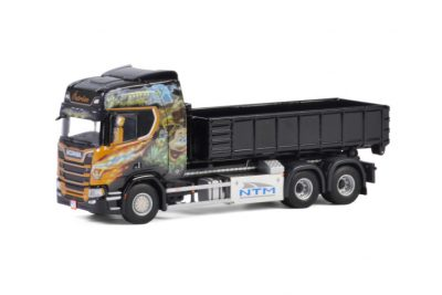 Öström SCANIA R HIGHLINE CR20H 6×4 HOOKLIFT SYSTEM , Van WSI Models