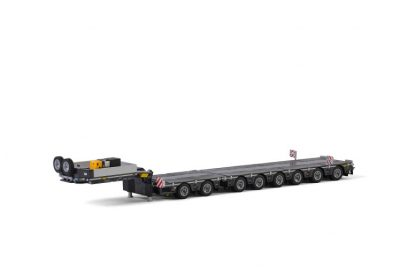 Premium Line LOW LOADER 6 AXLE DOLLY 2 AXLE BROSHUIS , Van WSI Models