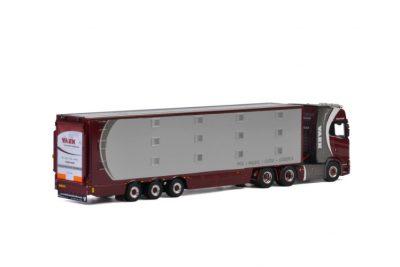 Vaex SCANIA S HIGHLINE CS20H 6×2 TAG AXLE LIVE STOCK TRAILER , Van WSI Models