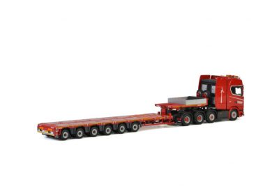 KNT Red Line SCANIA S HIGHLINE CS20H 8×4 MCO PX – 6 AXLE , Van WSI Models