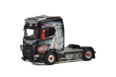 Transports Nerdeux SCANIA S HIGHLINE CS20H 4×2 , Van WSI Models