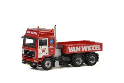 Van Wezel VOLVO F16 GLOBETROTTER 6×4 + BALLAST BOX , Van WSI Models