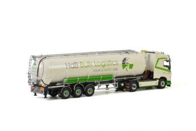 HDB Logistics VOLVO FH4 GLOBETROTTER 4×2 BULK TRAILER / TIPPER – 3 AXLE , Van WSI Models