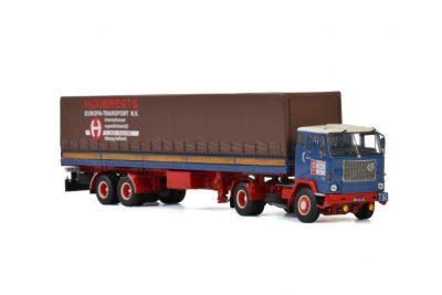Huijbregts VOLVO F88 4×2 CURTAINSIDE CLASSIC – 2 AXLE , Van WSI Models