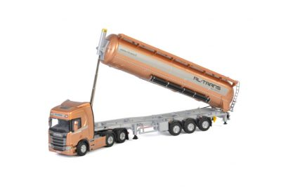 RL-Trans SCANIA R HIGHLINE CR20H 6X4 BULK TRAILER – 3 AXLE , Van WSI Models