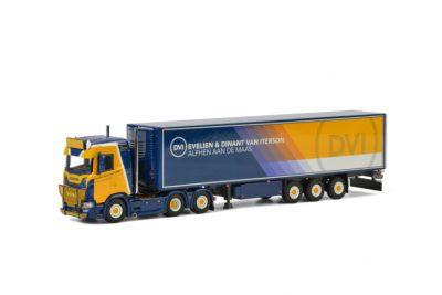 Dinant van Iterson SCANIA S NORMAL CS20N REEFER TRAILER – 3 AXLE , Van WSI Models