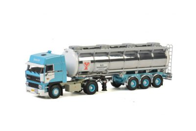 H&S Transport DAF 2800 SPACE CAB 4×2 TANK TRAILER – 3 AXLE , Van WSI Models