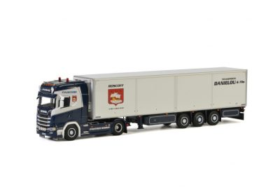 L. Danielou SCANIA S HIGHLINE CS20H 4×2 REEFER TRAILER – 3 AXLE , Van WSI Models