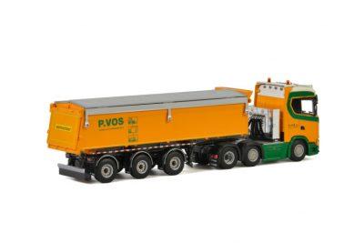 P. Vos SCANIA S NORMAL CS20N 6×2 TWIN STEER TIPPER TRAILER – 3 AXLE , Van WSI Models