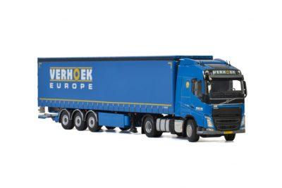 Verhoek Europe VOLVO FH4 GLOBETROTTER 4×2 CURTAINSIDE , Van WSI Models