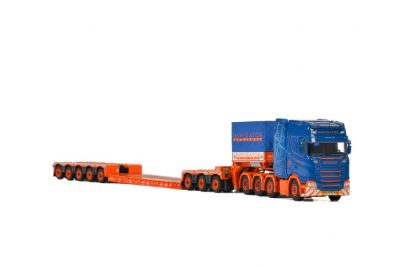 Navigator Transport SCANIA S HIGHLINE CS20H 8×4 LOWLOADER 5 AXLE , Van WSI Models