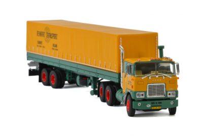Rynart Trading MACK F700 6×4 CLASSIC CURTAINSIDE TRAILER – 2 AXLE , Van WSI Models