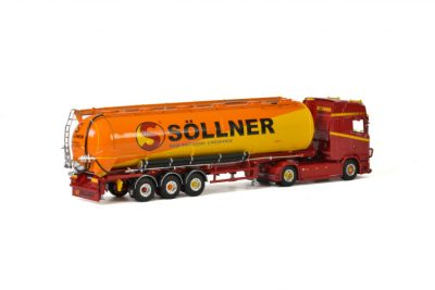 Söllner Schwerlast SCANIA S HIGHLINE | CS20H 4×2 BULK TIPPER TRAILER – 3 AXLE , Van WSI Models