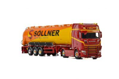 Söllner Schwerlast SCANIA S HIGHLINE | CS20H 4×2 BULK TIPPER TRAILER – 3 AXLE , Van WSI Models