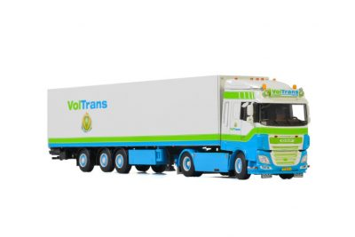 Voltrans DAF XF SPACE CAB MY2017 4×2 BOX TRAILER – 3 AXLE , Van WSI Models