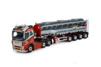 Tekno Volvo FH4 Rasmussen met bulktrailer