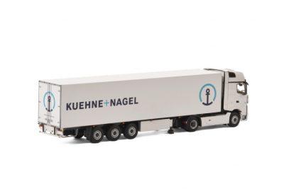 Kuehne + Nagel MERCEDES-BENZ ACTROS MP4 GIGA SPACE 4×2 REEFER TRAILER – 3 AXLE , Van WSI Models