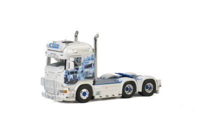 TS Express SCANIA STREAMLINE HIGHLINE 6×2 TAG AXLE , Van WSI Models