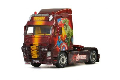 Transport Beau VOLVO FH3 GLOBETROTTER 4X2 , Van WSI Models