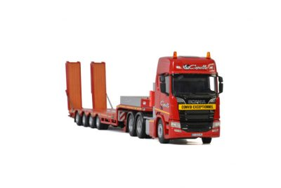 Transports Capelle SCANIA R HIGHLINE CR20H 6×4 SEMI LOWLOADER – 4 AXLE , Van WSI Models