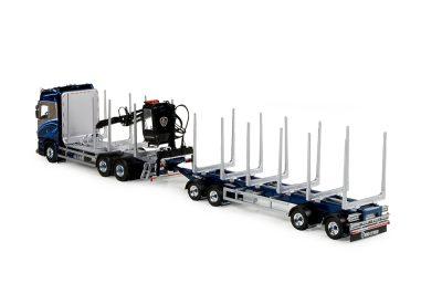 Tekno Scania Kvaforths bomentransport uit Zweden.