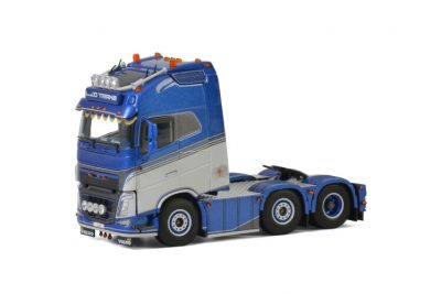 LJD Trans VOLVO FH4 GLOBETROTTER XL 6X2 TWIN STEER , Van WSI Models