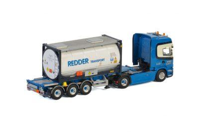 Redder SCANIA STREAMLINE TOPLINE 4×2 CONTAINER TRAILER , Van WSI Models