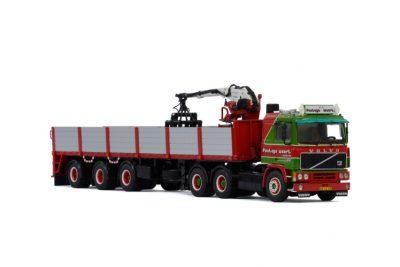 Fonteijn Weert VOLVO F12 6×4 BRICK TRAILER – 3 AXLE – WITHOUT LOAD , Van WSI Models